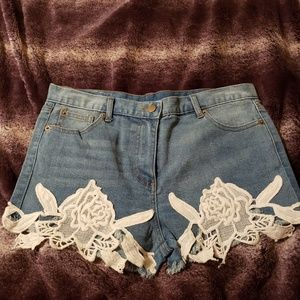Brand New Lacy Shorts-bought at a boutique